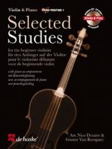 Selected Studies + Cd - Violon, Piano