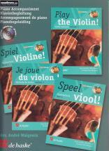 Je Joue Du Violon Vol.1 - Accompagnement De Piano