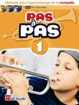 Pas A Pas Trompette Vol.1 + 2 Cd Et Dvd