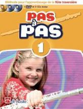 Pas A Pas Flute Traversiere Vol.1 + 2 Cd Et Dvd