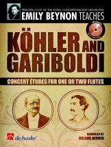 Köhler/gariboldi - Concert Etudes For One Or Two Flutes + Cd
