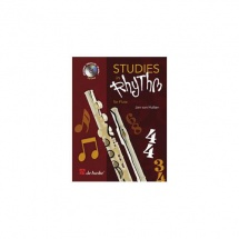 Van Hulten J.w.a. - Studies In Rhythm For Flute + Cd