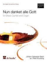 Bach J.s. - Nun Danket Alle Gott - Quintette Cuivres, Orgue