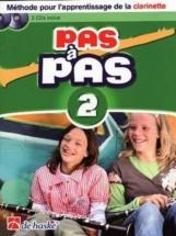 Pas A Pas Clarinette Vol.2 + Cd