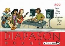 Diapason Rouge Vol.6 - Paroles Et Accords