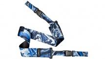 Dimarzio Courroie Steve Vai Cliplock -  Blue Universe -  5cm