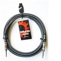 Dimarzio Dep1715-bkgy Cable Guitare 4,50m Noir/gris