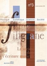 Revue Filigrane N°3 - La Societe Dans L