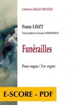 Demessieux Jeanne - Funerailles De Liszt (transcription Pour Orgue De Jeanne Demessieux)