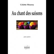 Mourey Colette - Au Chant Des Saisons - Piano