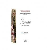 Bonnal Joseph-ermend - Sonate Pour Violon Et Piano
