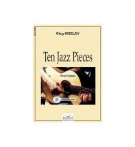 Kiselev Oleg - Dix Pieces Jazz Pour Guitare