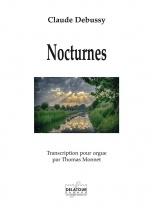Debussy Claude-achille - Nocturnes - Transcription Pour Orgue