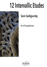 Sadigursky Sam - 12 Intervallic Etudes For All Saxophones