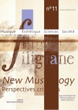 Revue Filigrane N°11 - New Musicology (perspectives Critiques)