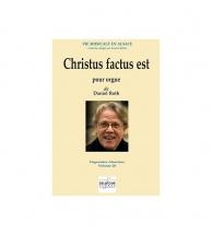 Roth Daniel - Christus Factus Est Pour Orgue