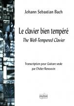 Bach Johann-sebastian - Le Clavier Bien Tempere Pour Guitare Seule