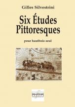 Silvestrini Gilles - Six Etudes Pittoresques Pour Hautbois Solo