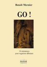 Mernier Benoit - Go ! - 10 Miniatures Pour Organiste Debutant