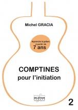 Gracia Michel - Comptines Pour L'initiation - Apprendre La Guitare A Partir De 7 Ans