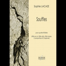 Sophie Lacaze - Souffles Pour Quatre Flutistes