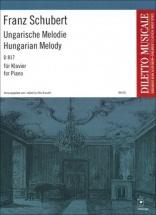 Schubert F. - Ungarische Melodie H-moll D 817 - Piano