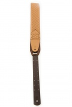 Dna Guitar Gear Dna Leather Strap-california Caramel