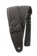 Dna Guitar Gear Dna Leather Strap-erebus Black