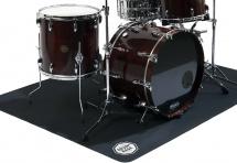 Drum N Base Dnb - Tapis De Batterie Et Percussions - Antidérapant - Pliant - 180 X 140 Cm