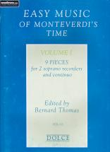 Easy Music Of Monteverdi