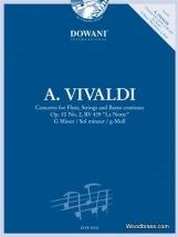 Vivaldi A. - Concerto Pour Flûte Op. 10/2 Rv 439 (la Notte) Sol Min. + Cd