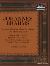 Brahms J. - Complete Chamber Music For Strings And Clarinet Quintet