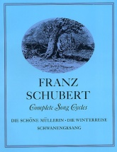 Schubert Franz - Complete Song Cycles - Voice