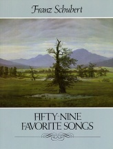 Schubert F. - Fifty-nine Favorite Songs - Chant-piano