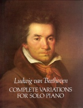 Beethoven Complete Variations - Piano Solo