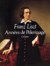 Liszt Franz - Annees De Pelerinage - Complete Score - Piano Solo