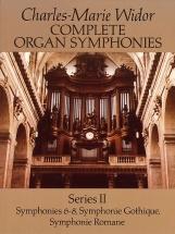 Widor Complete Organ Symphonies Series Ii - Organ