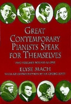 Elyse Mach Great Contemporary Pianists Speak For Themselves - Post-1900