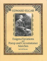 Elgar Edward - Enigma Variations And Pomp And Circumstance Marches - Full Score - Orchestra