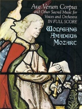 W.a. Mozart Ave Verum Corpus And Other Sacred Choral Music For Voices - Choral