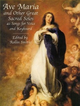 Ave Maria And Other Great Sacred Solos - Voice