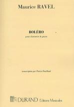 Ravel M. - Bolero - Clarinette Et Piano