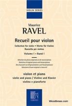 Ravel M. - Recueil Pour Violon Vol.1