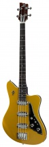 Duesenberg Triton Bass Longscale and Solid Body Gold Top