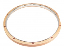 Dunnett Rmwh1014 14 Hybrid Hoop 10 Holes Maple - Steel