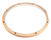 Dunnett Rmwh814 14 Hybrid Hoop 8 Holes Maple - Steel