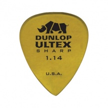 Dunlop Adu 433p114  -  Sharp Ultex Players Pack - 1,14 Mm (par 6)