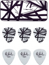Dunlop Adu Evhpt03  -  Collector Evh Noir / Blanc - 0,60 Mm (par 6)