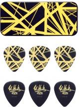 Dunlop Adu Evhpt04  -  Collector Evh Noir / Jaune - 0,60 Mm (par 6)