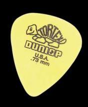 Dunlop Mediator Tortex 0.73mm Jaune